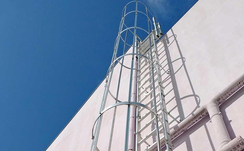 Ladder Rack Installation